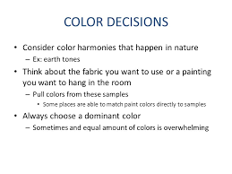 color schemes certain colors used together in design there are