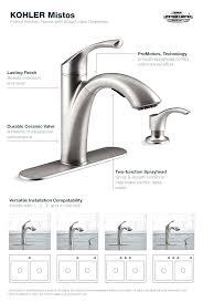 kohler kitchen faucet parts diagram faucet kohler bathroom faucet parts diagram kohler sink faucet