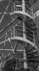 free images black and white architecture structure sky stair
