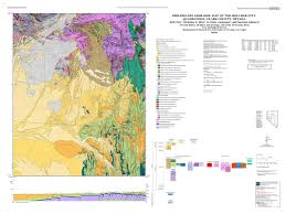 Boulder Colorado Map Geologic Map Of The Boulder City Quadrangle Clark County Nevada