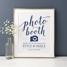 Photo Booth Sign Printable Wedding Photo Booth Sign Photobooth Sign