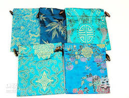 fancy large gift bags china style high quality bunk silk