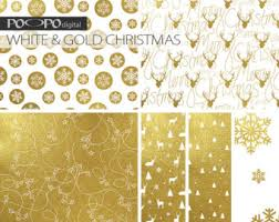 metallic christmas wrapping paper gold dot confetti digital paper polka dots sparkle christmas