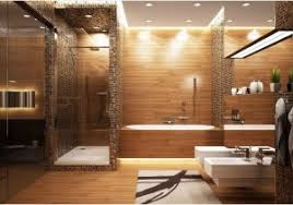 holz f r badezimmer waschtisch aus holz tolles modell grau wnde holz im bad