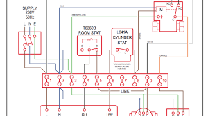 central heating electrical wiring throughout s plan system diagram