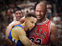 Micheal Jordan Meme - perfect meme of michael jordan carrying stephen curry sportige