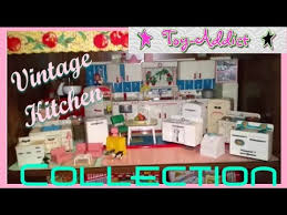 vintage kitchen collection tin play kitchens fiestaware