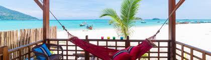 beachfront bungalow at lipe beach resort koh lipe thailand