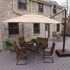 Patio Offset Umbrella 20 Best Offset Cantilever And Patio Umbrellas Images On Pinterest