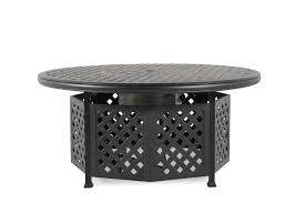 world source castle rock chat pit table mathis brothers
