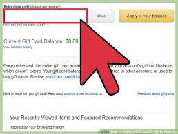 buy a gift card 3 ways to apply a gift card code to wikihow