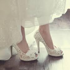 wedding shoes luxury lace peep toe wedding shoes wedding corners