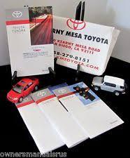 2011 toyota prius owners manual toyota tundra manual ebay