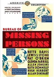 amazon bureau amazon com bureau of missing persons bette davis lewis s