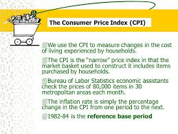 us bureau of labor statistics cpi the cpi and the cost of living ppt