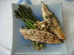 cuisiner des maquereaux maquereaux marinés à l asiatique et aux asperges un an pour faire