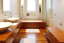 interieur salle de bain moderne salle de bain en bois