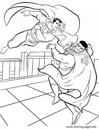 superman fighting coloring page39c6 coloring pages printable