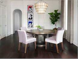 modern round kitchen table and chairs industrial modern round dining table with upholstered chairs