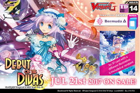 cardfight vanguard cardfight vanguard g trial deck vol 14 debut of the divas