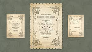 vintage portfolio categories wedding invitations by jinaiji