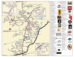 Nevada City Map Sierra Vintners Wine Tasting Sierra Foodwineart A Lifestyle