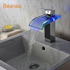 Led Bathroom Faucet online get cheap water temperature led faucet aliexpress com