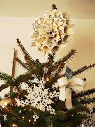 Homemade Christmas Tree by 8 Beautifully Unusual Christmas Tree Topper Ideas