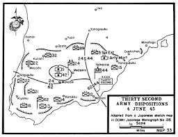Map Of Okinawa Battle Of Okinawa Chapter 09