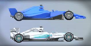 f1 cars will be significantly different in 2017 which is great