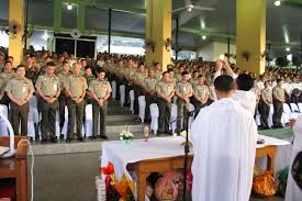 thanksgiving army army offers thanksgiving mass for successful papal visit to the