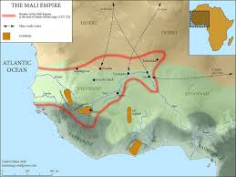 Gambia Africa Map by Four Great African Empires That Astonished The World