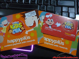 debit cards for kids jollibee kids club now with happyplus cards high gear throttle