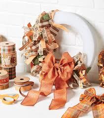 fall ribbon fall wreaths fall decorating ideas joann