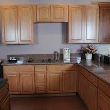 Maple Wood Kitchen Cabinets Maple Cabinets With Wrought Iron Hardware Kitchen Remodel