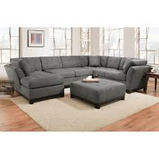 Sofa Living Room Furniture Manhattan Sectional Sofa Loveseat U0026 Lsf Chaise Slate