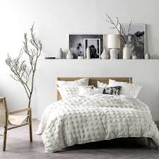 haze white quilt cover u0026 pillowcase set by linen house single bed