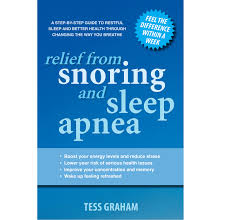 relief from snoring and sleep apnoea book purchase from