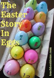 easter resurrection eggs the easter story in eggs or resurrection eggs teach beside me