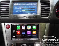 subaru legacy pioneer apple carplay upgrade
