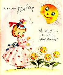best 25 vintage birthday cards ideas on pinterest vintage