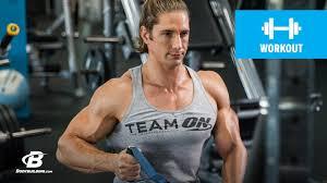 shaun stafford s shoulder workout