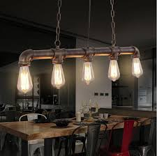 Retro Pendant Lights Retro Pendant Lamp Nordic Industrial Loft Iron Pipe Pendant Light