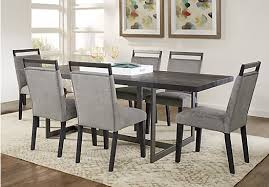 amsterdam avenue black 5 pc rectangle dining room dining room