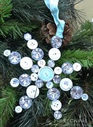 snowflake christmas tree ornaments from brigitte u0027s button bijoux