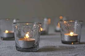 glass tea light holders glass tea light holders with etched star design the wedding of my