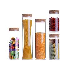 Clear Glass Kitchen Canister Sets Popular Glass Jar Set Buy Cheap Glass Jar Set Lots From China