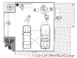 100 floor plans for garages 2 car garage dimensions