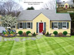 front yard landscaping ideas for ranch style homes landscaping