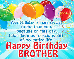 Happy Birthday Wishes To Big Happy Birthday Wishes For Brother